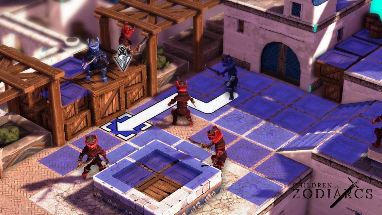 Children of Zodiarcs un RPG de estrategia para PS4, PC y Mac