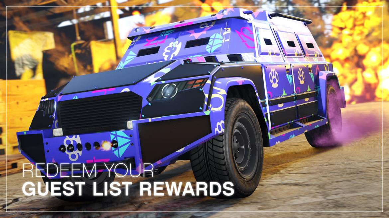 GTA Online-Guest List Rewards-GamersRD