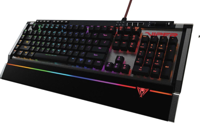 PATRIOT presenta el teclado VIPER V770 RGB