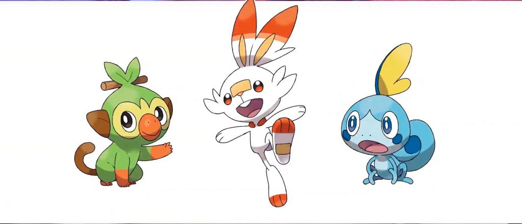 Pokémon iniciales - Pokémon Direct