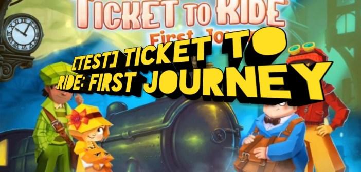 [Test] Ticket to Ride: First Journey