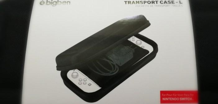 [Avis] Pochette de transport case-L BigBen pour Nintendo Switch