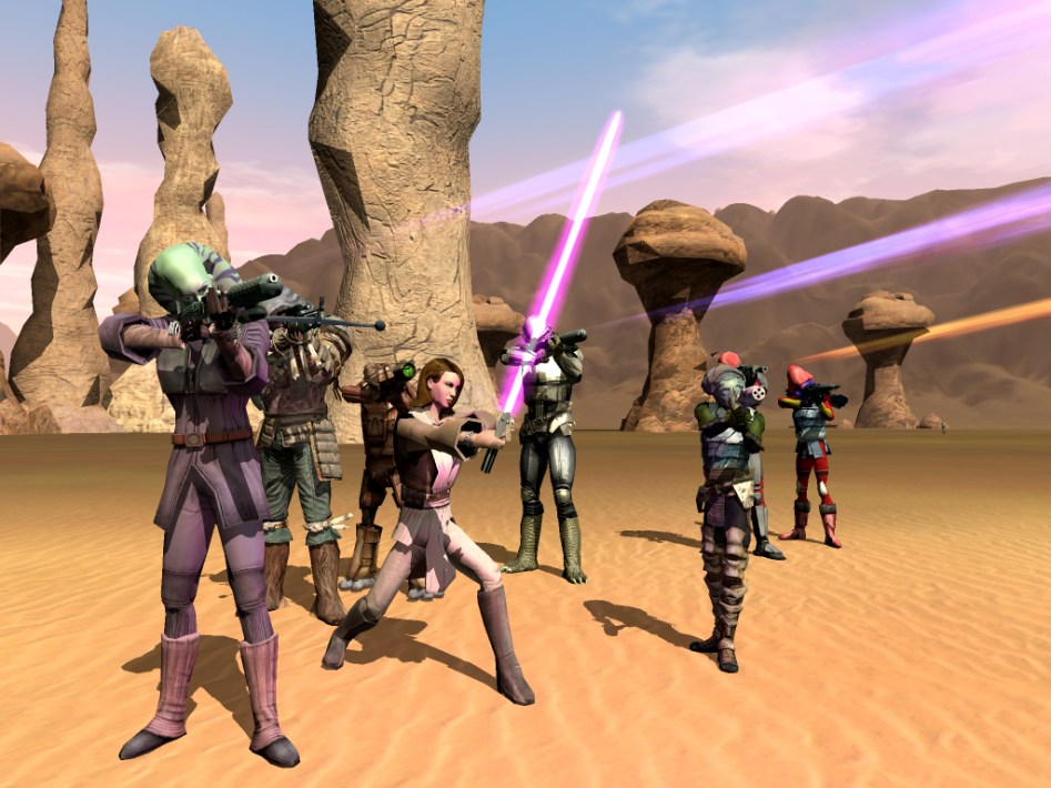 Star Wars Galaxies Chronicles - Gamer Tribute