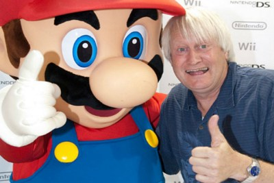 Charles Martinet voices Mario, Luigi, Wario, Shinobi and Paarthurnax