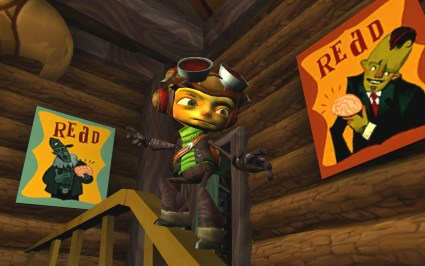 Psychonauts Parallax for PS2 is one of the most underrated games of all time