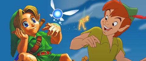 Zelda link was inspired by Peter pan