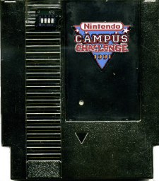 Nintendo Campus Challenge 1991 rarest video games
