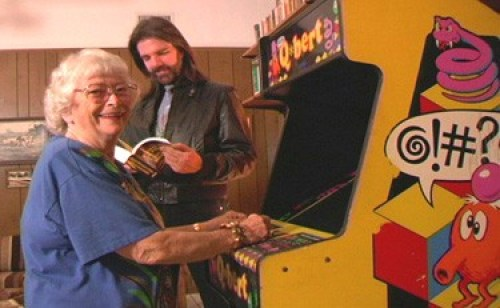 Doris Self Picture gaming