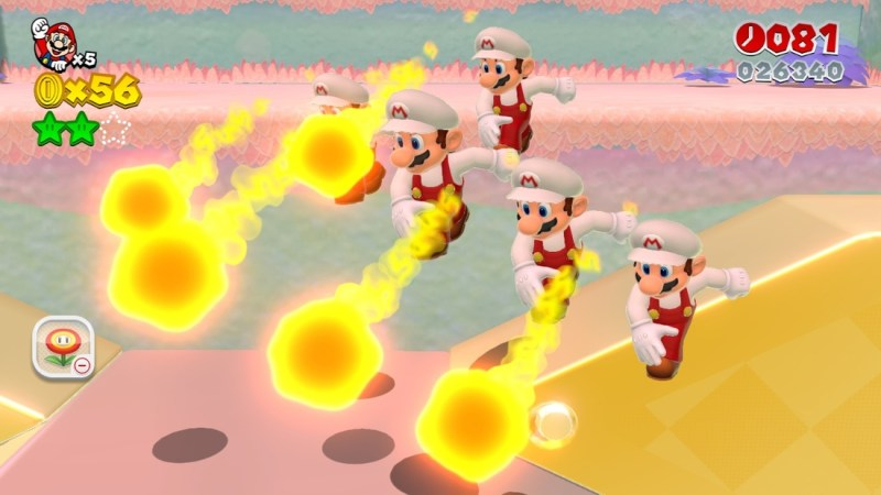 Super-Mario World 3D fun video games