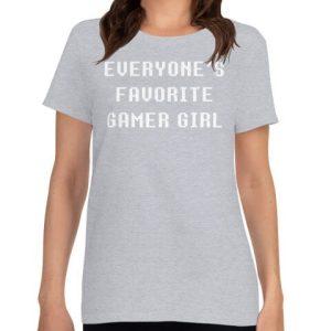 gaming girl tshirt Best Gifts for Gamer Girls