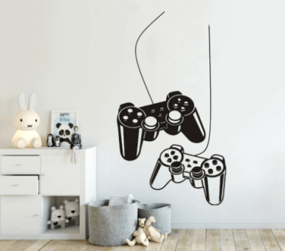 Game room wall art
