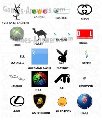 Logo Quiz answers level 5 part 1