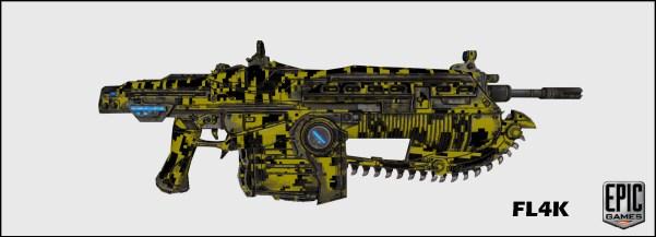 FL4K_WeaponSkin-1024x370 Gears of Wars 3: Les skins du prochain DLC