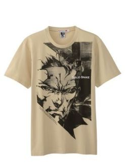 MGS-tee-shirt-Uniqlo-4 Metal Gear Solid : Une collection de tee-shirts pour feter les 25ans