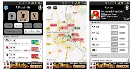 screenshot.597 Essence Free: Trouver la station la moins chère