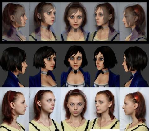 Anna-Ormeli-480x420 Ormeli devient le visage officiel d'Elizabeth (Bioshock Infinite)