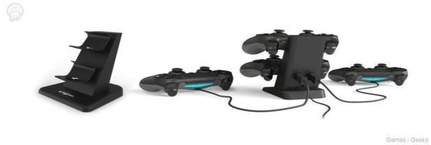 PS4-dual-charger-1024x345 Bigben présente ses accessoires pour Xbox One et PS4