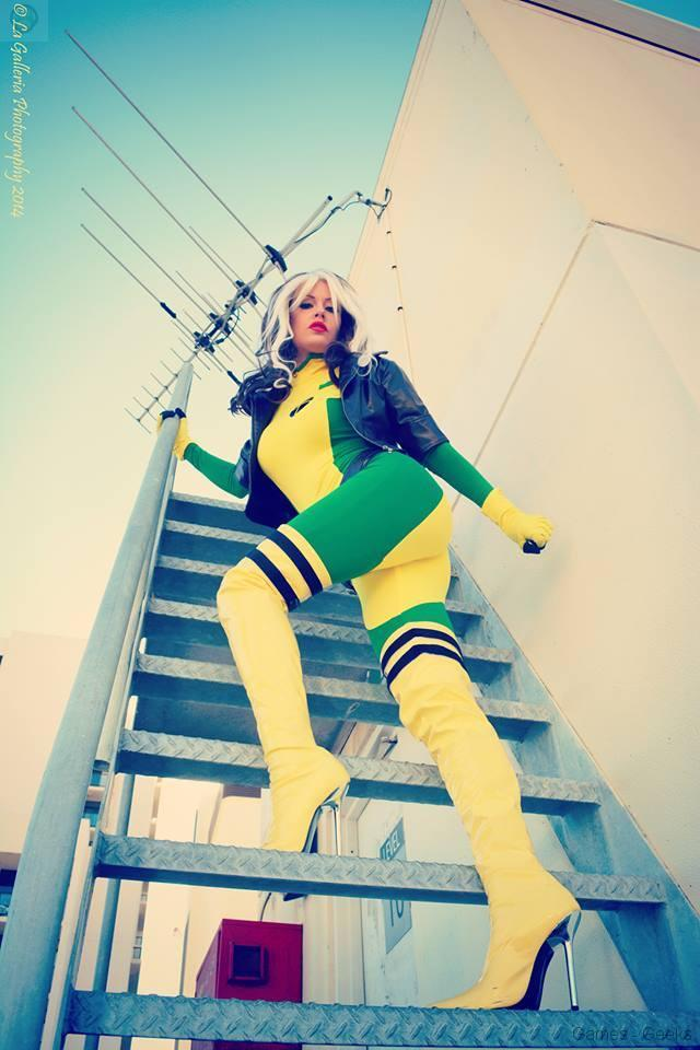 games-geeks-Lady-Jaded-Rogue-In-The-City10392345_594674913983403_6343319786037501844_n Cosplay - XMen - Rogue #32