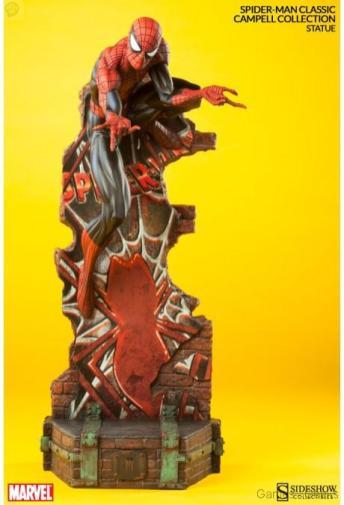 marvel-spider-man-classic-polystone-statue-1 Figurine : SpiderMan
