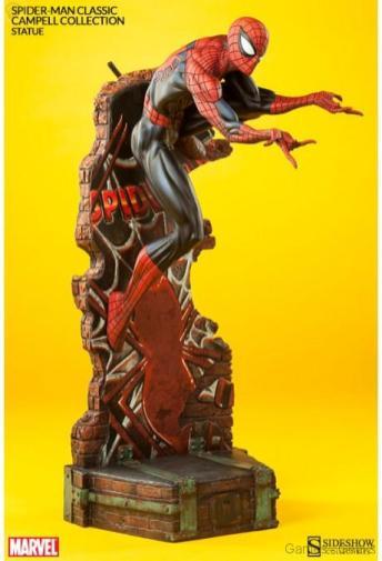 marvel-spider-man-classic-polystone-statue-3 Figurine : SpiderMan