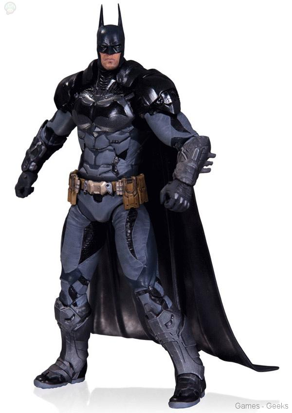 Batman-Arkham-Knight-Batman-Figure Quatre nouvelles figurines pour l'univers Batman