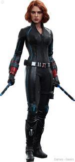 Avengers-Age-of-Ultron-Black-Widow-Sixth-Scale-Figure La sélection Figurine de la semaine #3