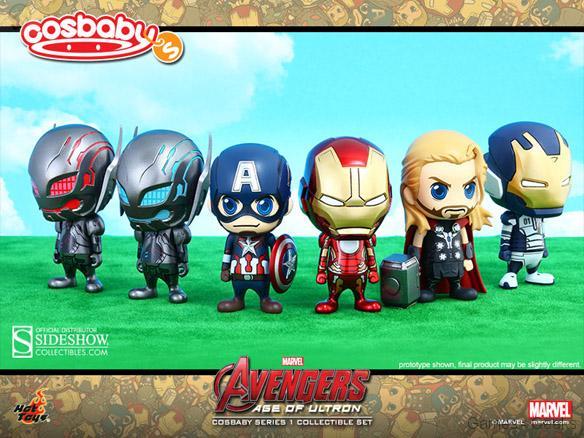 Avengers-Age-of-Ultron-Cosbaby-Collectible-Set La sélection Figurine de la semaine #3