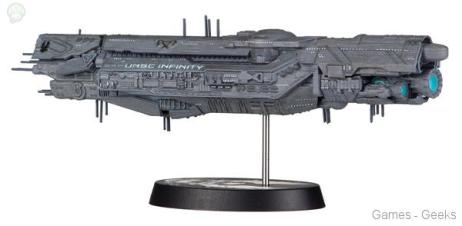 Halo-UNSC-Inifinity-Ship-Replica-Model La sélection Figurine de la semaine #3