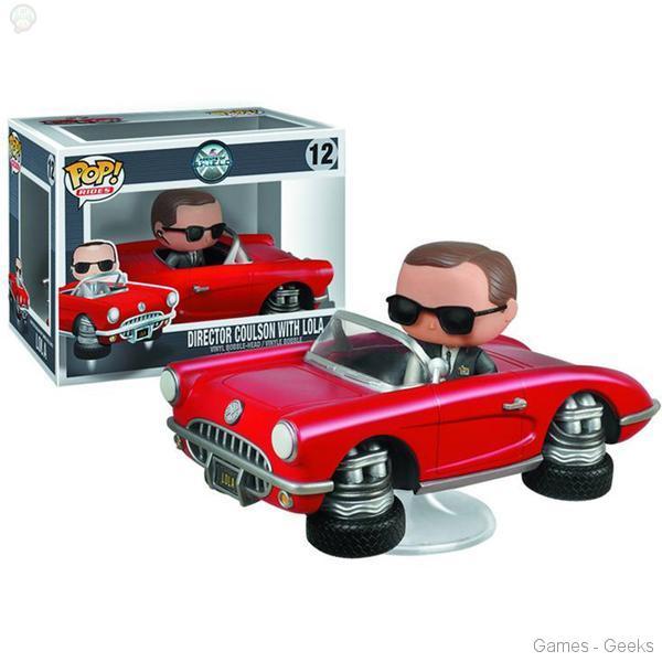 Agents-of-SHIELD-Lola-with-Agent-Coulson-Pop-Vinyl-Vehicle Sélection Figurine de la semaine #5