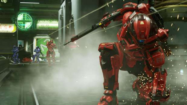 poing-sol-1024x576 Test - Halo 5 : Guardians - Xbox One