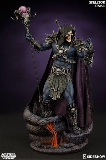 masters-of-the-universe-skeletor-statue-200460-04 Figurine Sideshow - Les maitres de l'univers - Skeletor