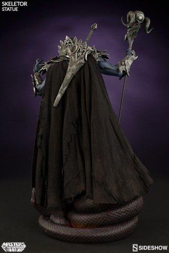 masters-of-the-universe-skeletor-statue-200460-05 Figurine Sideshow - Les maitres de l'univers - Skeletor