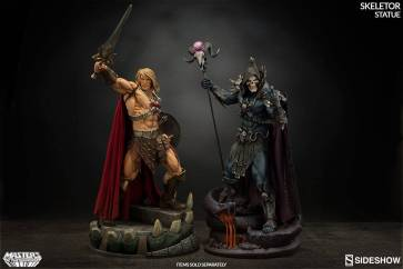 masters-of-the-universe-skeletor-statue-200460-14 Figurine Sideshow - Les maitres de l'univers - Skeletor
