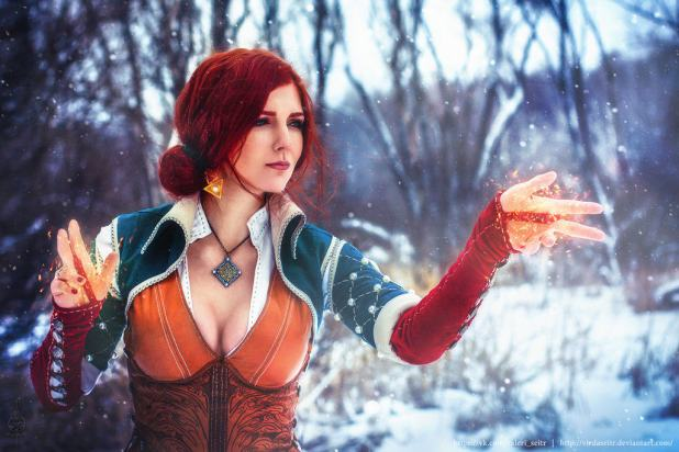 merigold_triss__3__by_virdaseitr-d9p0t79-1024x683 Cosplay - Triss - The Witcher #104