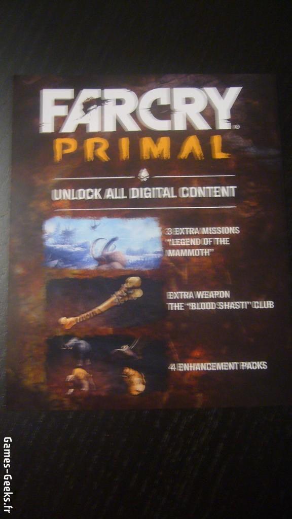 P1100263-e1455991878782 Far Cry Primal - Unboxing de l'édition collector - PS4