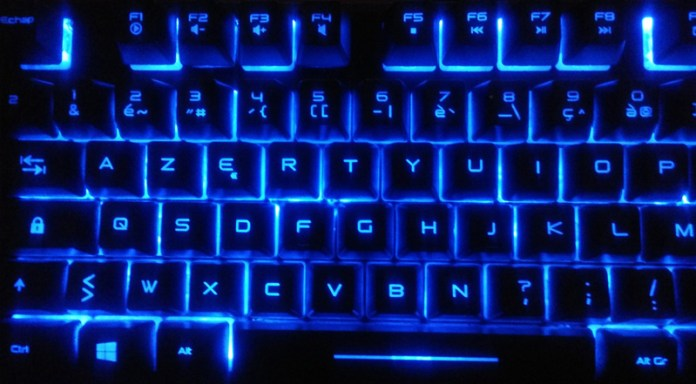 EliteK10_led_bleu Test - Clavier Gamer Elite-K10