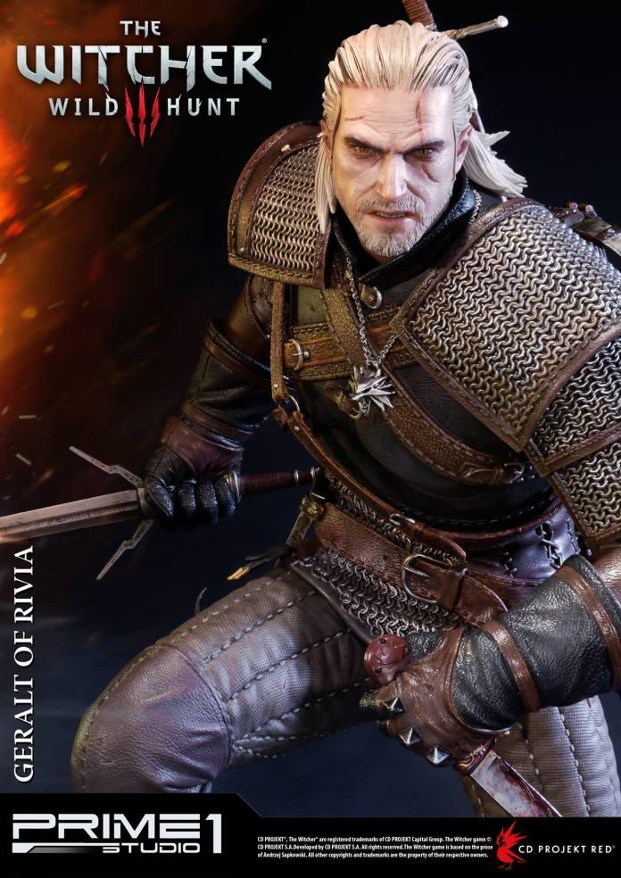 Witcher-3-Geralt-de-Riv-Statue-001 Prime 1 - Une magnifique figurine pour Geralt de The Witcher 3
