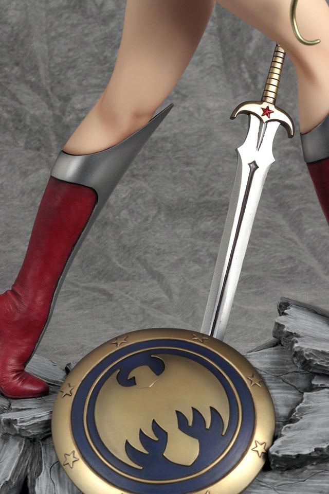 YAM350892_6 Figurine - Fantasy Figure Gallery DC Comics: Wonder Woman par Luis Royo