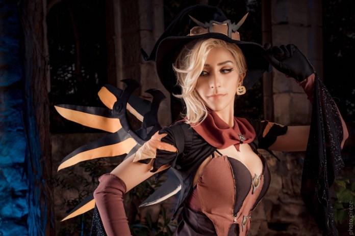 tumblr_ofw713kjI91s9fu2to2_1280 Cosplay - OverWatch - Ange Halloween #133