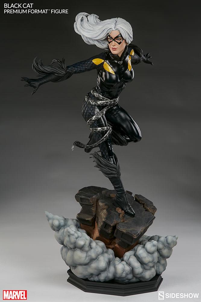 marvel-black-cat-premium-format-300465-05 Figurine – Marvel – Black Cat – Premium Format