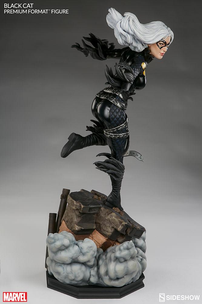 marvel-black-cat-premium-format-300465-08 Figurine – Marvel – Black Cat – Premium Format
