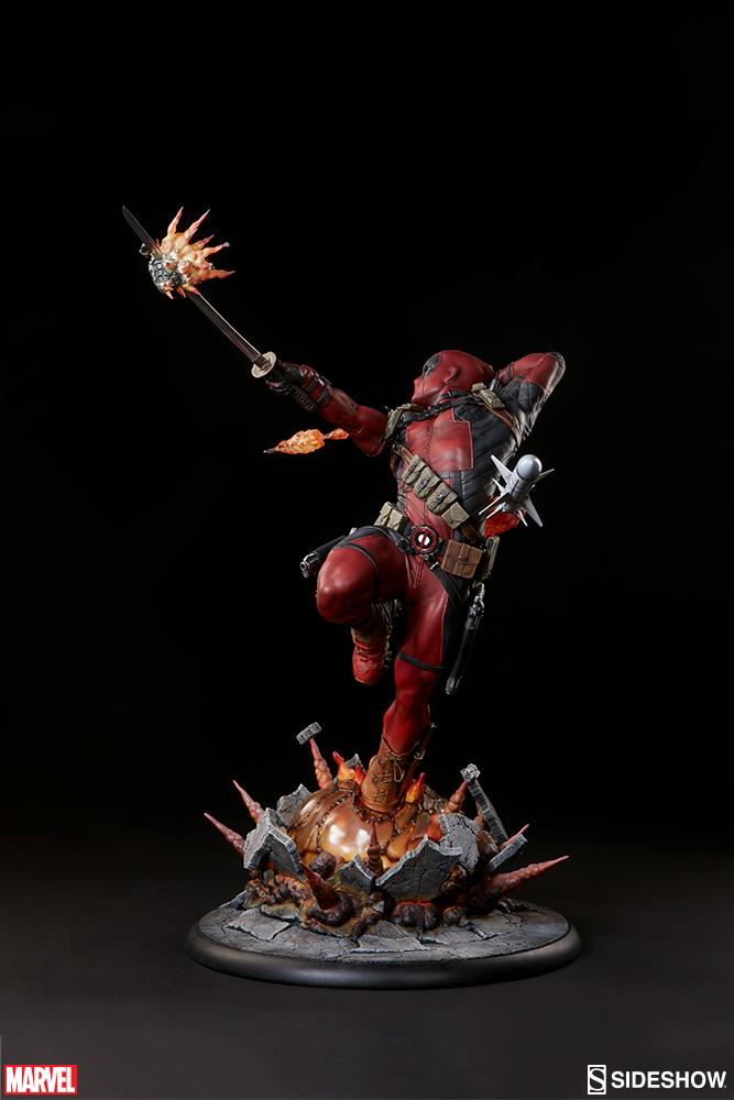 marvel-deadpool-heat-seeker-premium-format-feature-300511-05 Figurine - Deadpool Heat-Seeker