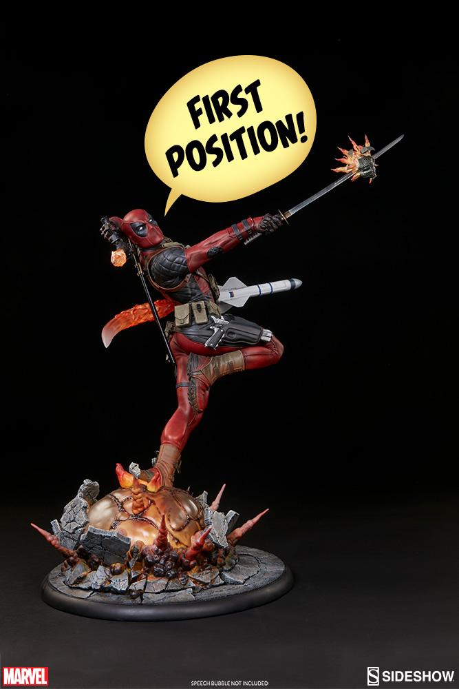 marvel-deadpool-heat-seeker-premium-format-feature-300511-09 Figurine - Deadpool Heat-Seeker