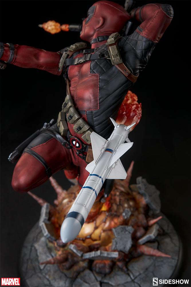marvel-deadpool-heat-seeker-premium-format-feature-300511-12 Figurine - Deadpool Heat-Seeker