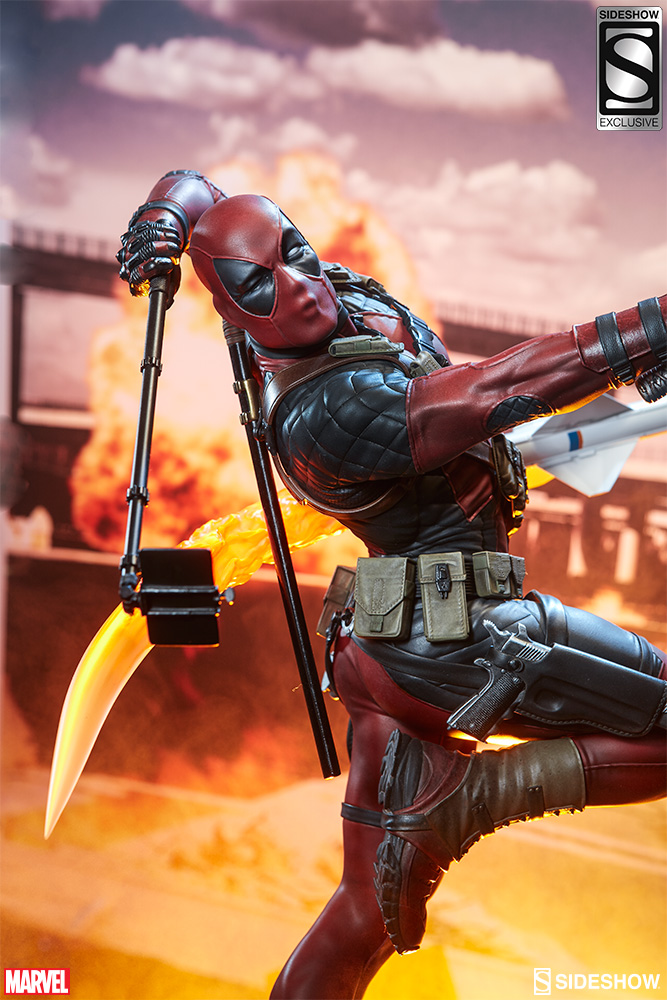 marvel-deadpool-heat-seeker-premium-format-feature-3005111-01 Figurine - Deadpool Heat-Seeker