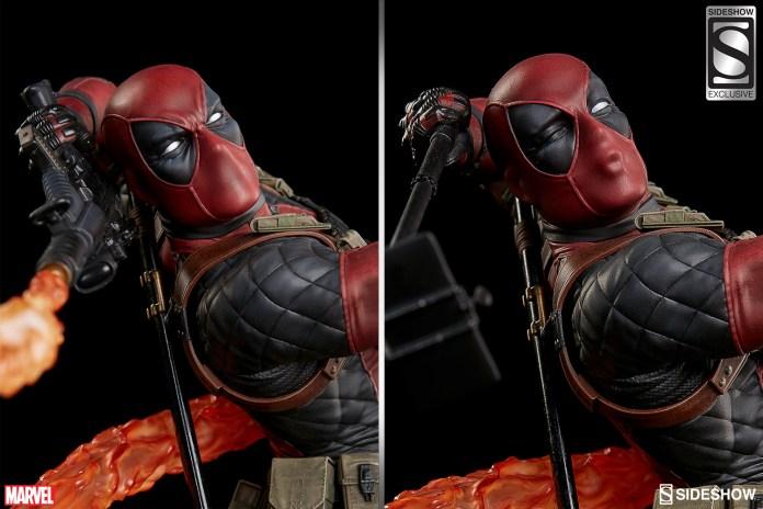 marvel-deadpool-heat-seeker-premium-format-feature-3005111-02 Figurine - Deadpool Heat-Seeker