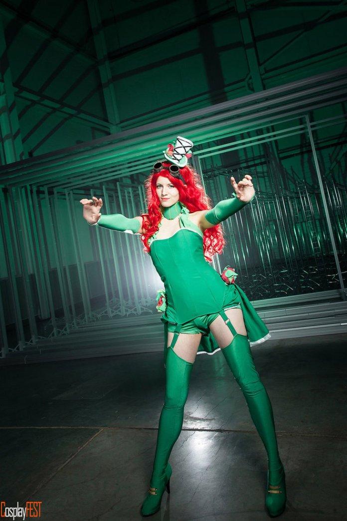 poison_ivy_cosplay_by_kawaielli-daolf7f Cosplay - Poison Ivy Steampunk #135