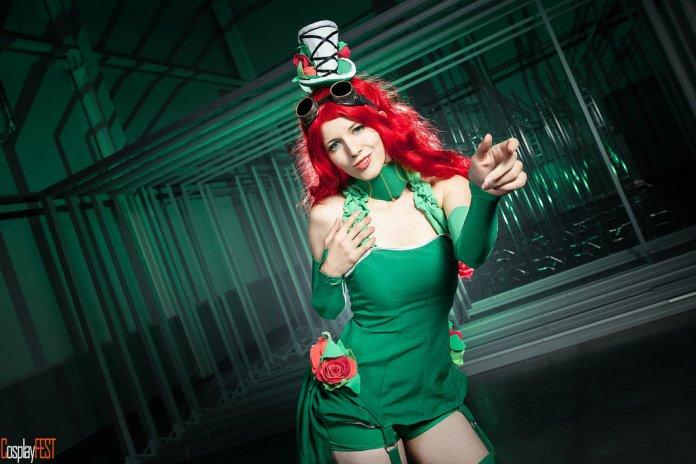 poison_ivy_cosplay_by_kawaielli-daolfkz Cosplay - Poison Ivy Steampunk #135