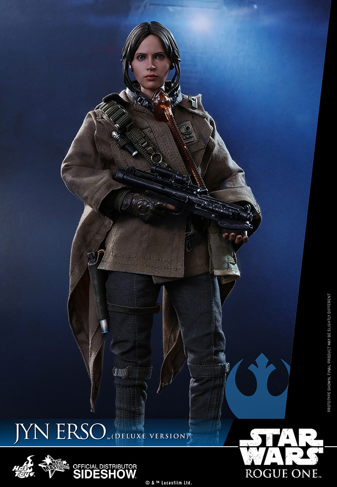 star-wars-rogue-one-jyn-erso-deluxe-version-sixth-scale-hot-toys-902919-02 Figurine - Star Wars Rogue One Jyn Erso Deluxe