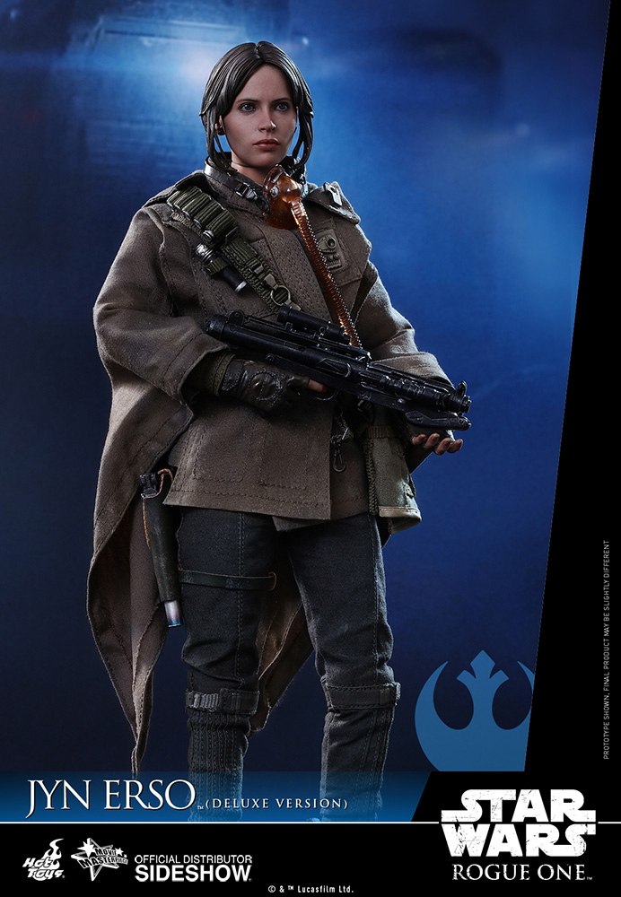 star-wars-rogue-one-jyn-erso-deluxe-version-sixth-scale-hot-toys-902919-03 Figurine - Star Wars Rogue One Jyn Erso Deluxe